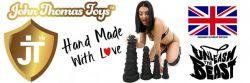 John Thomas® Toys BEASTLI Platinum Silicon Dildo Review