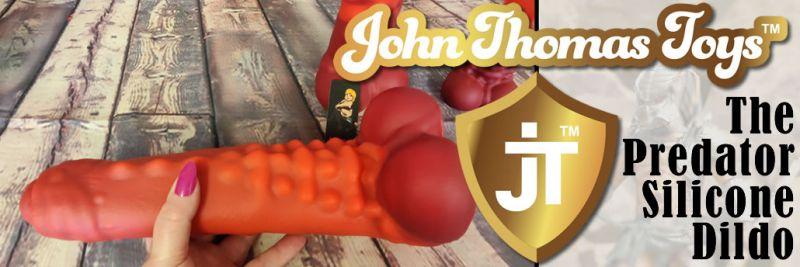 John Thomas Toys LA recensione del dildo in silicone platino PREDATOR