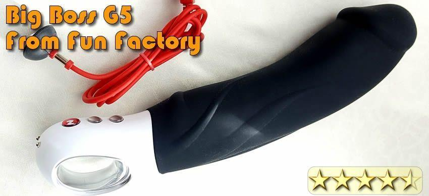 Vibrator Review Fun Factory Big Boss G5