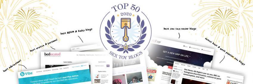 TOP 50: Nejlepší blogy o sexuálních hračkách