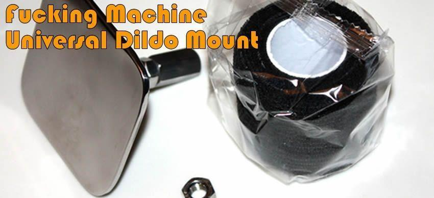 Universal Fucking Machine Dildo Adaptor from www.fmachinefun.co.uk
