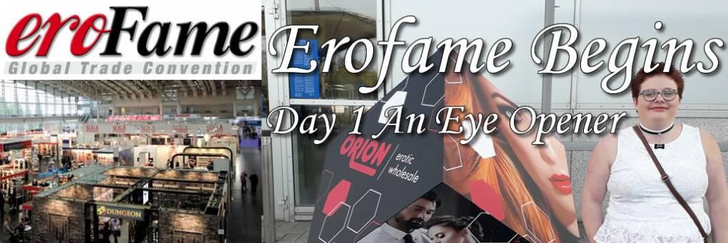 Erofame 2018 - 1-päivä ja tarvitsemme pyöränkaulan