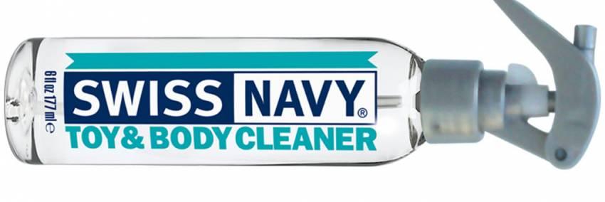 Sveitsin laivaston lelu ja vartalon puhdistusaine
