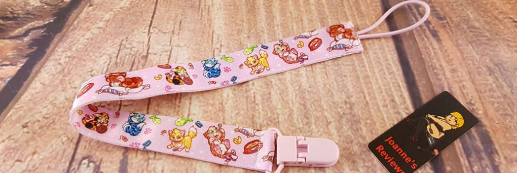 Kocięta ABDL Pacifier Clip From Onesies Downunder