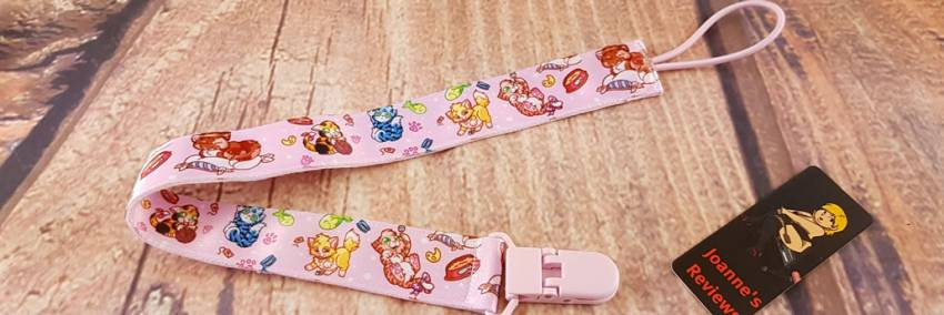 Kittens ABDL Pacifier Clip From Onesies Downunder
