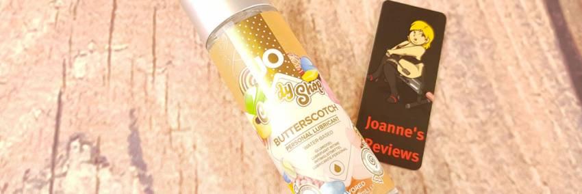 ジョーH2OキャンディショップButterscotch潤滑剤