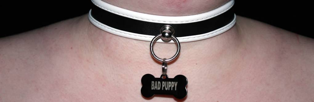 BDSM Puppy Slave Collar Обзор