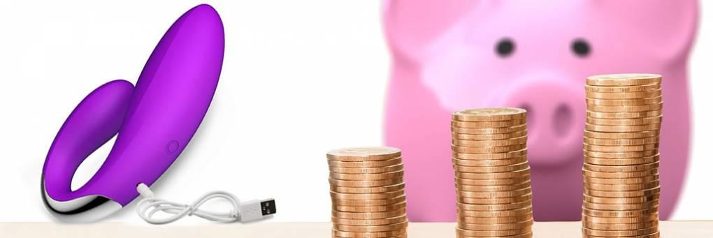 Comprando brinquedos sexuais em um orçamento
