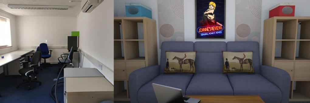 Joannes Büro / Studio, Ein schnelles Update