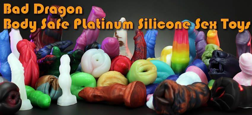 Bad Dragon Fantasy Silicone Sex Toys