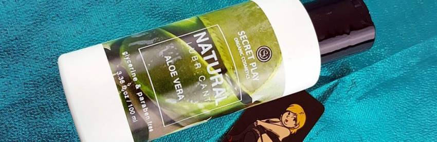 Secret Play Natural Vegan Organic Aloe Vera Recensione del lubrificante personale