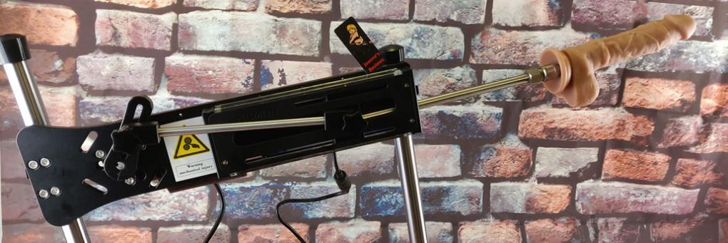 Hismithリモートコントロールプレミアムセックスマシンと無料のシリコンディルドとポータブルバッグ新版クソ機