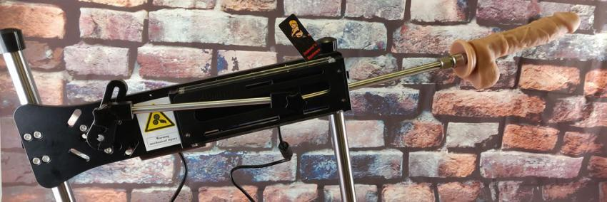 Hismith Premium Sex Machine com Controle Remoto com Vibrador de Silicone Grátis e Bolsa Portátil New Edition Fucking Machine
