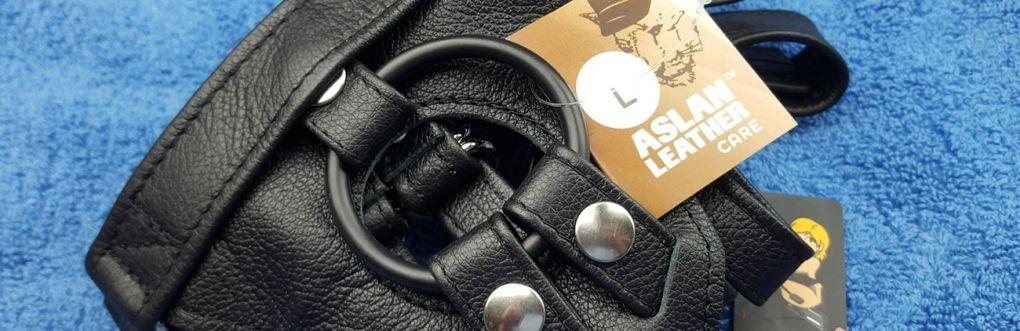 Aslan Leather Driver Strap On Uprząż od Uberkinky