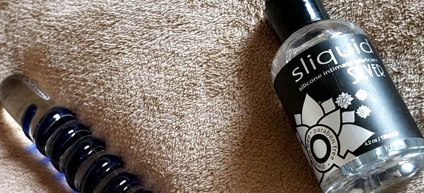 Sliquid Naturals Silver Silicone Lubricant from SexToys.co.uk