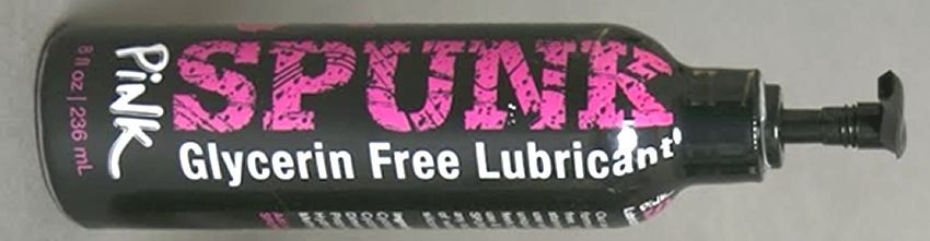 SPUNK LUBE Rose 8Oz / 236ml