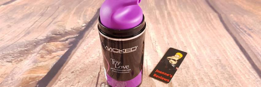 Wicked Toy Love Gel Lube pour les jouets intimes 100ml Review