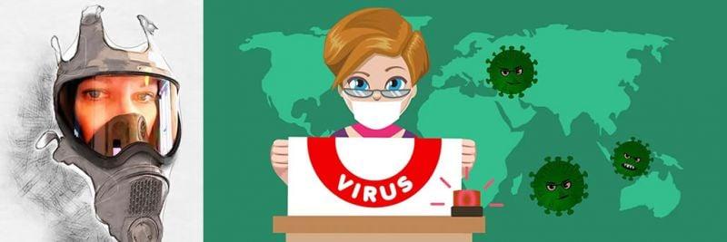 冠狀病毒/ Covid-19及其作用在Joanne的評論中