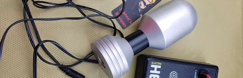 Large Torpedo Estim Elektroden Review von E-Stim Systems